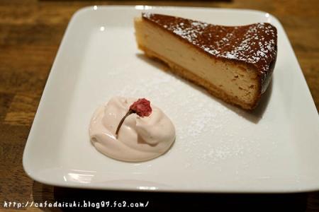 HAGI CAFE◇桜のチーズケーキ