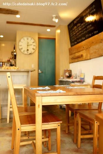 cafe Haru and haru◇店内