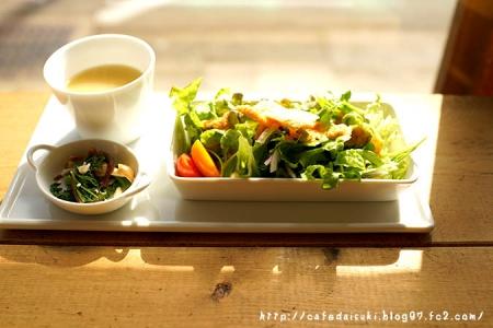 ひだまり商店◇前菜サラダ&スープ