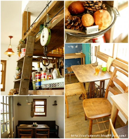 cafe noeud◇店内