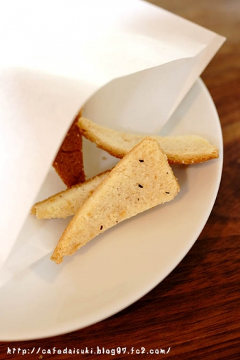 cafe recette◇パンの耳のラスク