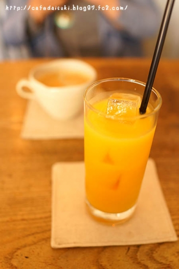 cafe spile◇オレンジジュース&コーヒー