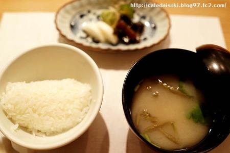 食の円居 なず菜◇ご飯(奈良県産ひのひかり)&みそ汁&香の物