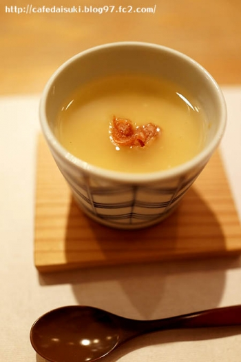 食の円居 なず菜◇冷たい茶碗蒸し