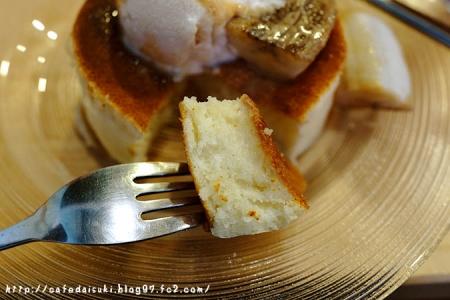 雪ノ下銀座◇練乳ミルクの白 焦がしバナナとキャラメルソースで