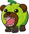 マイルドメロン熊