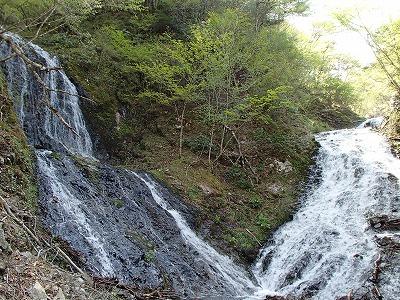 豆焼 両門の滝