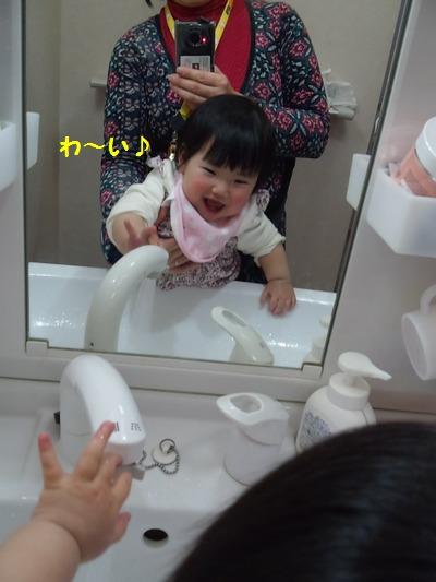 20140212洗面所のチーちゃん①