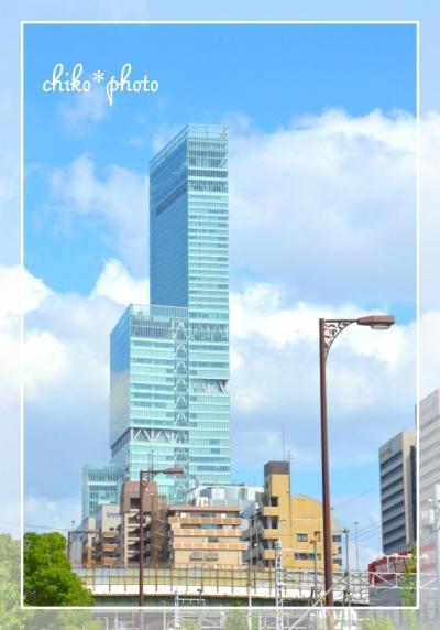 photo-507 大阪ビル風景 あべのハルカス