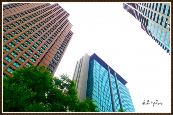 photo-508 大阪ビル風景 Osaka Garden City
