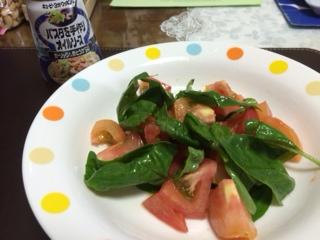 トマトとバジル2
