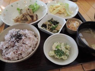c base cafe十六穀米