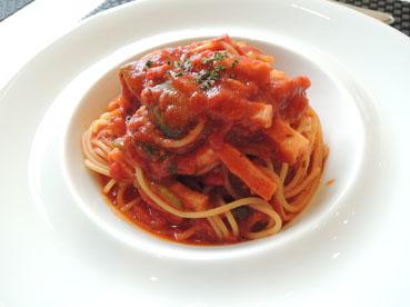 カンパーロトマトパスタ