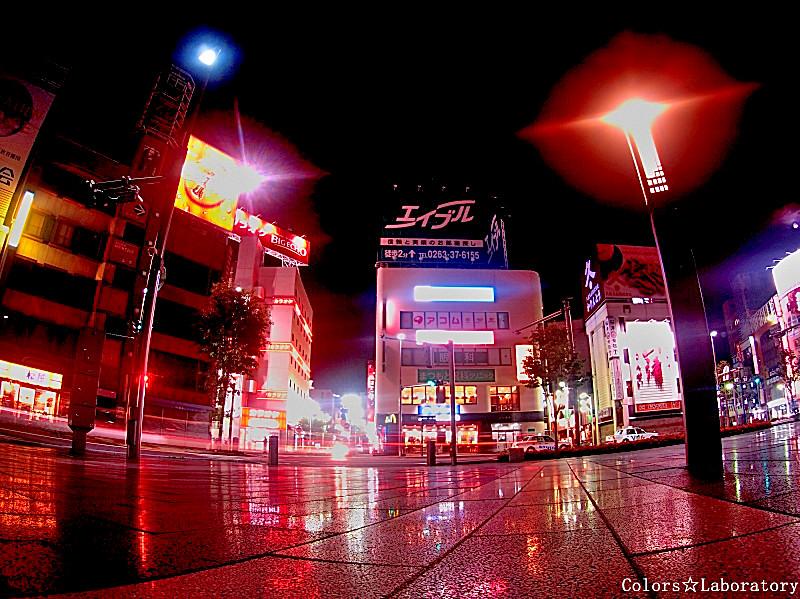 松本駅前夜景 3