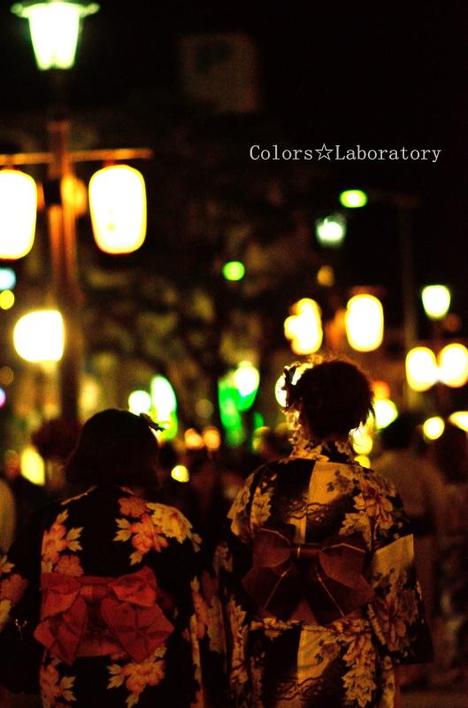 夜に咲く華