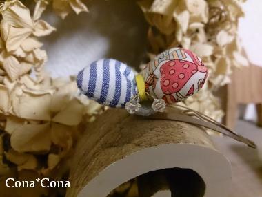 蝶々パッチンピン アップ