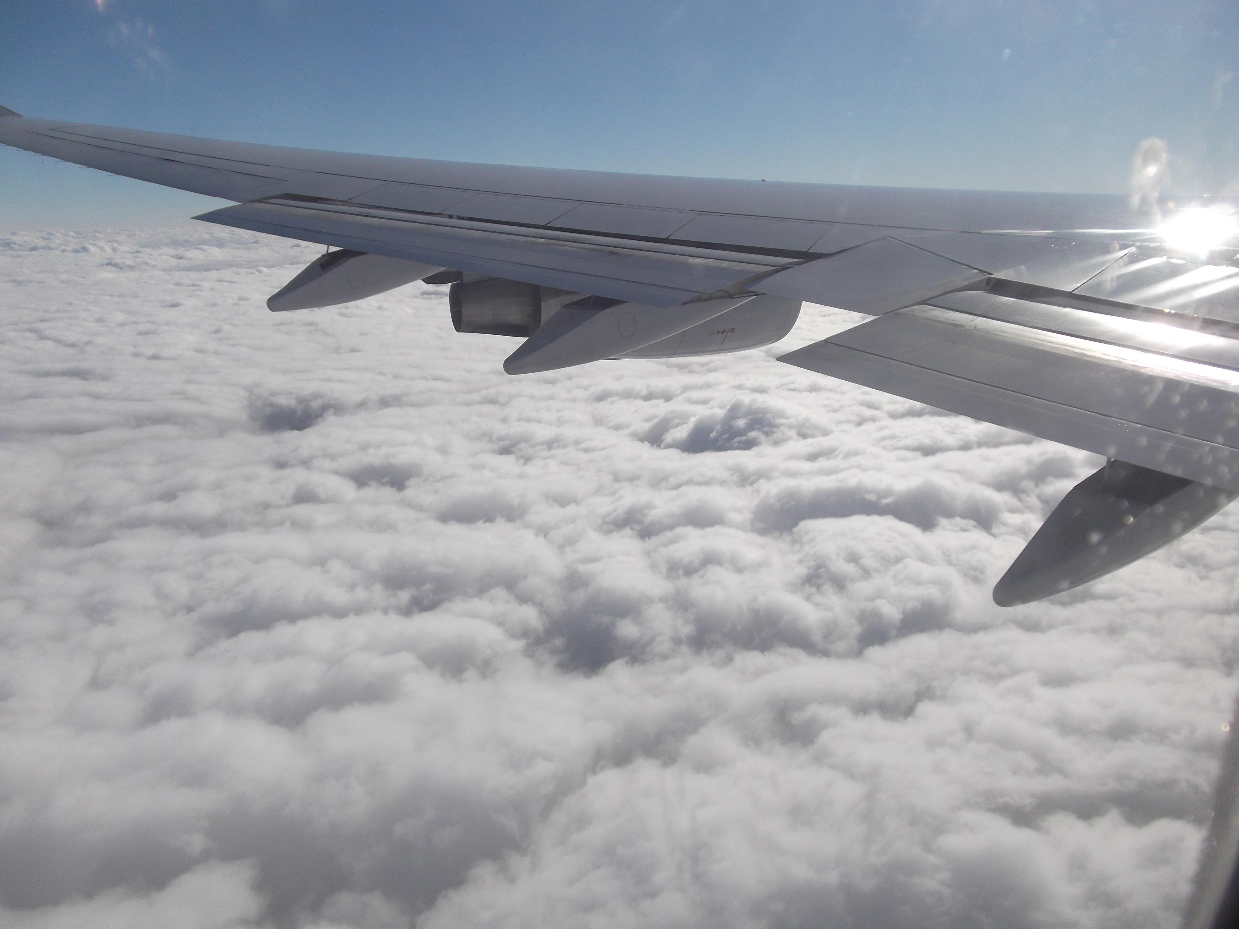 1日目 飛行機