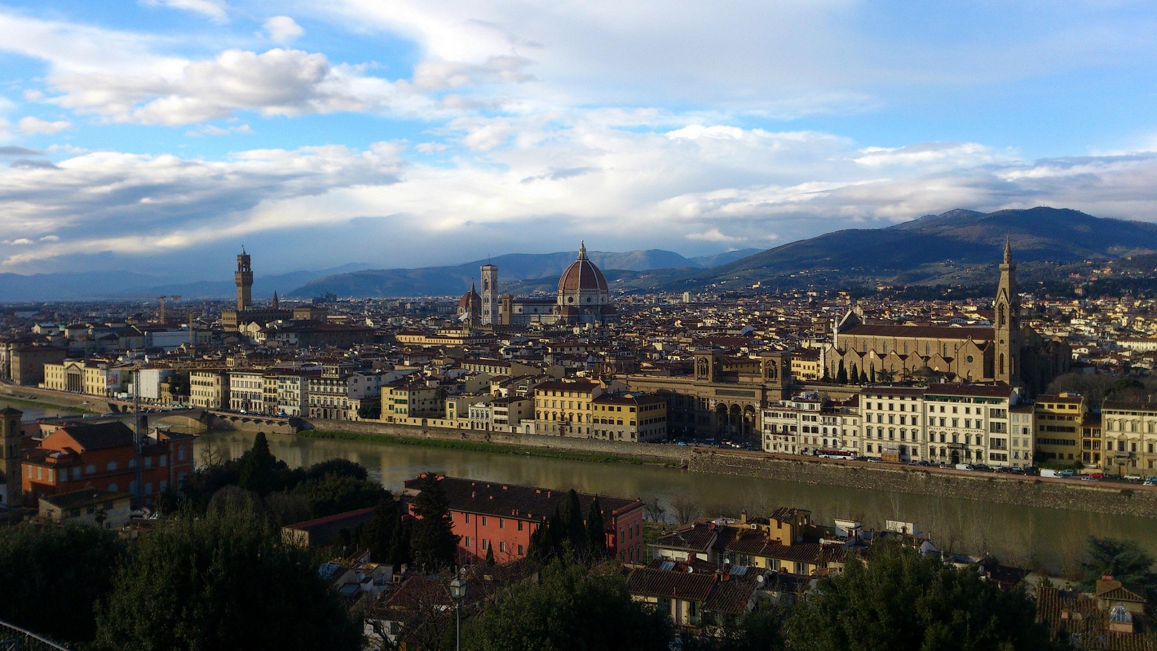 景色 フィレンチェ