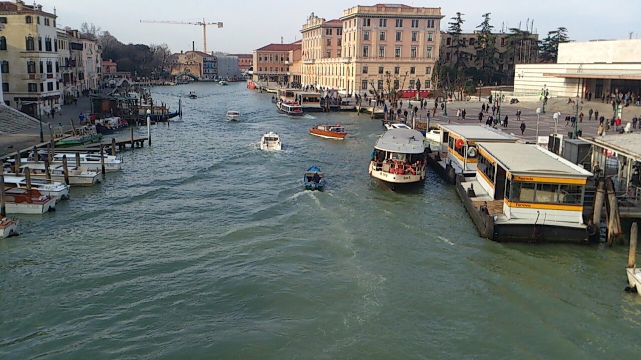 ヴェネチア 町並み
