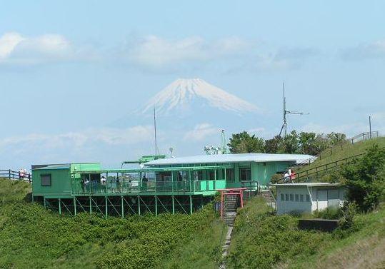 大室山からの富士山