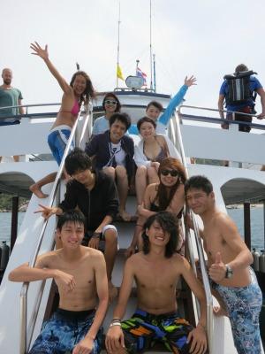 OW タオ島 集合写真
