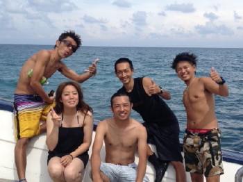 タオ島、6月9日集合写真