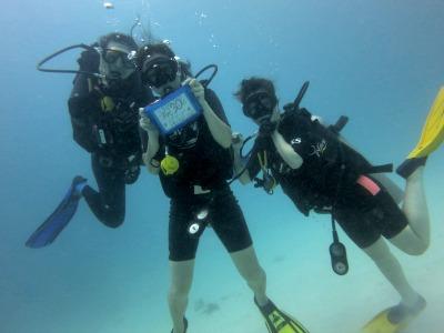 タオ島 ファンダイビング 記念ダイブ