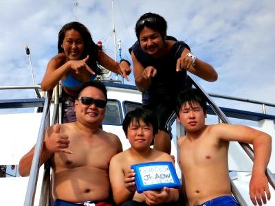 タオ島 アドバンス 集合写真