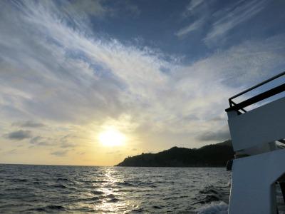 朝日 タオ島