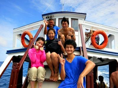 タオ島 ファンダイビング 集合写真