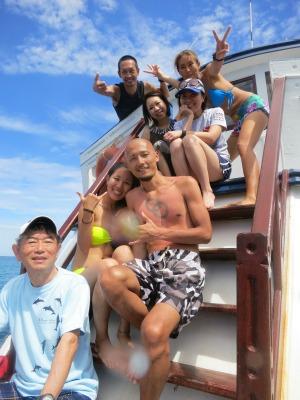 タオ島 集合写真
