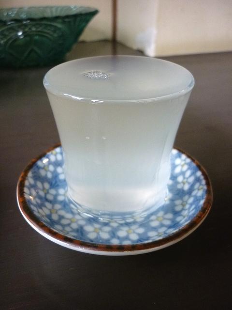 篠峰うすにごりグラス
