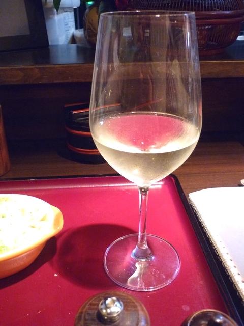 活麺富蔵 グラスワイン