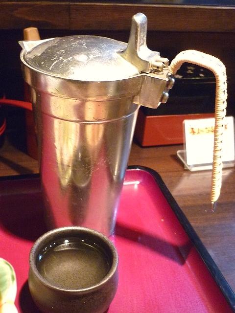 活麺富蔵 日本酒ぬる燗