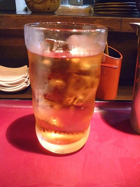 活麺富蔵 水だしアイスティー(ピーチアールグレイ)