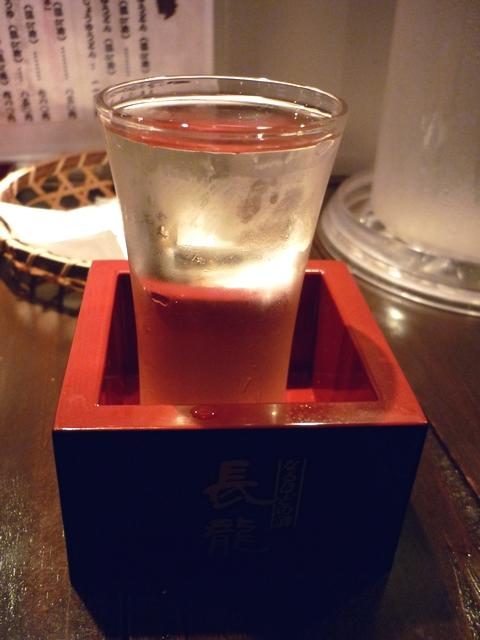 おすすめ日本酒お替り
