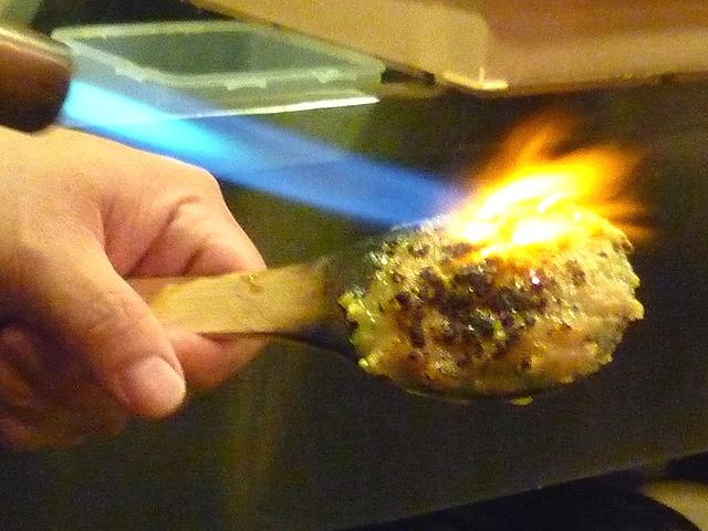 爽月の蕎麦味噌炙り