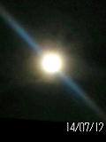 2014年7月12日満月