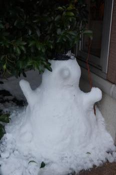 記録的大雪 (4)