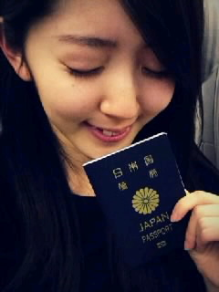 愛理ちゃん、海外へ