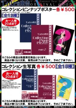 ピンナップポスターとコレクション生写真