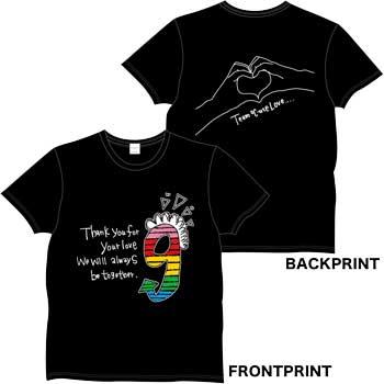 9周年記念イベントTシャツ