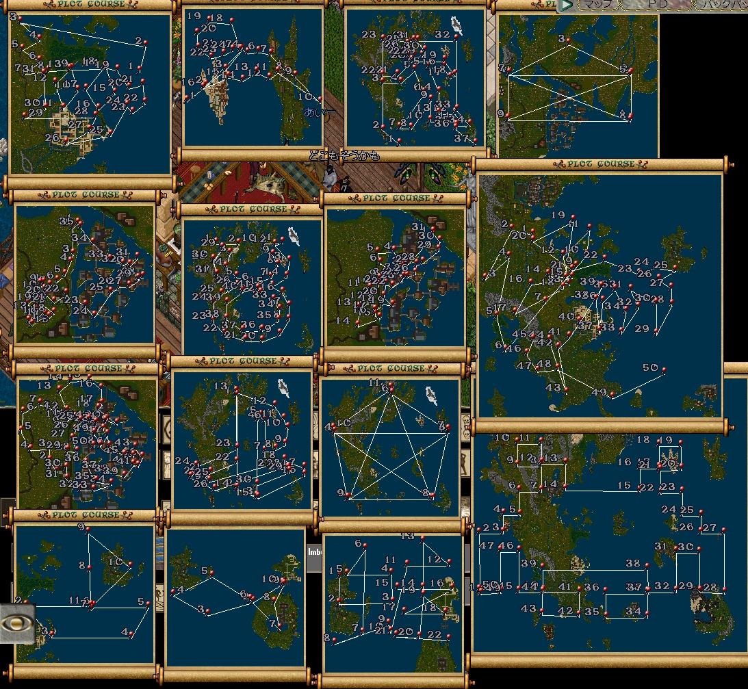 地図アート
