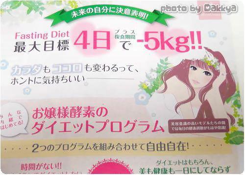 お嬢様酵素ダイエットプレゼントキャンペーン