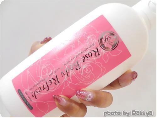 ローズボディリフレッシュ バラの香りの薬用ボディソープ
