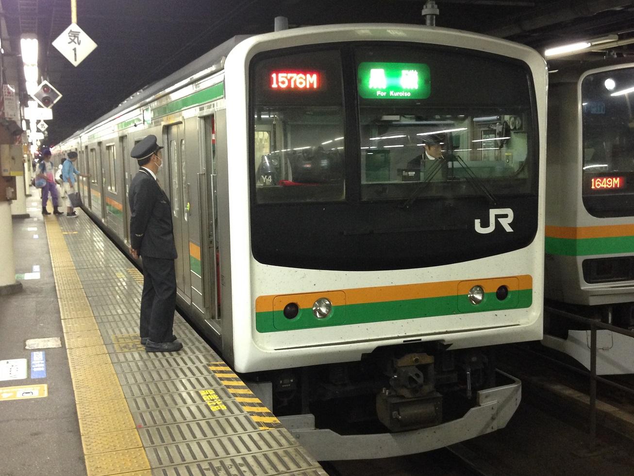 JR東日本205系東北