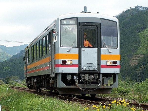 JR西日本 キハ120系 岡山