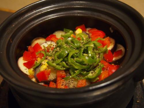 夏野菜の土鍋_convert_20140705105655