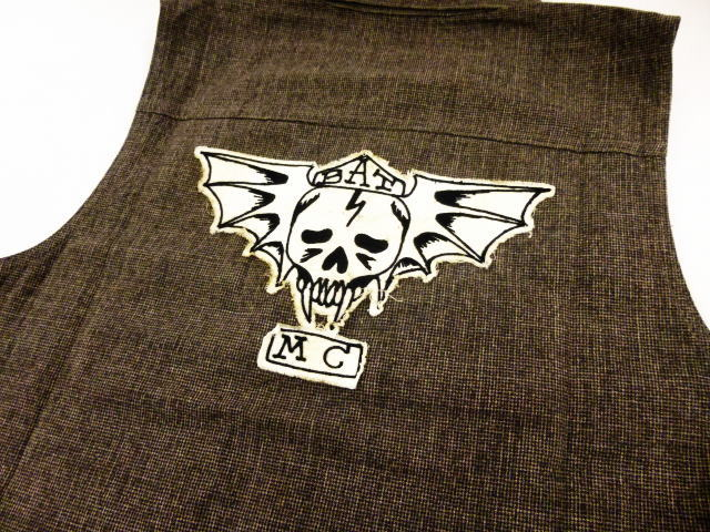 GANGSTERVILLE BAT MC VEST