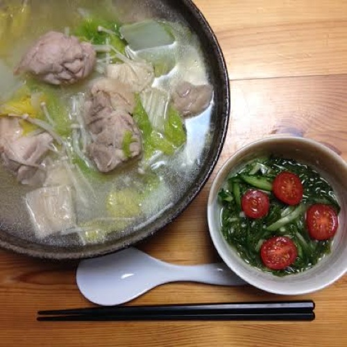 1鶏の中華スープセット